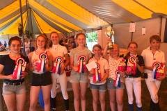 Limburgs Verenigings kampioen outdoor 2018 pony's