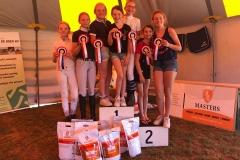 Limburgs Verenigings kampioen outdoor 2019 pony's
