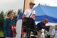 Limburgs kampioen outdoor 2019 eventing Coen Philipsen met Zamdoria in de klasse B