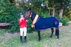 Nederlands Kampioen outdoor Eventing 2019: Hieke Kreuzer met Hijker Forest Collin klasse L