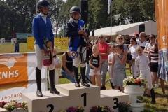 Limburgs kampioen outdoor 2019: Sophie van Rooij met Willow Tree Garwyn in de klasse C-L1 dressuur en C-B springen